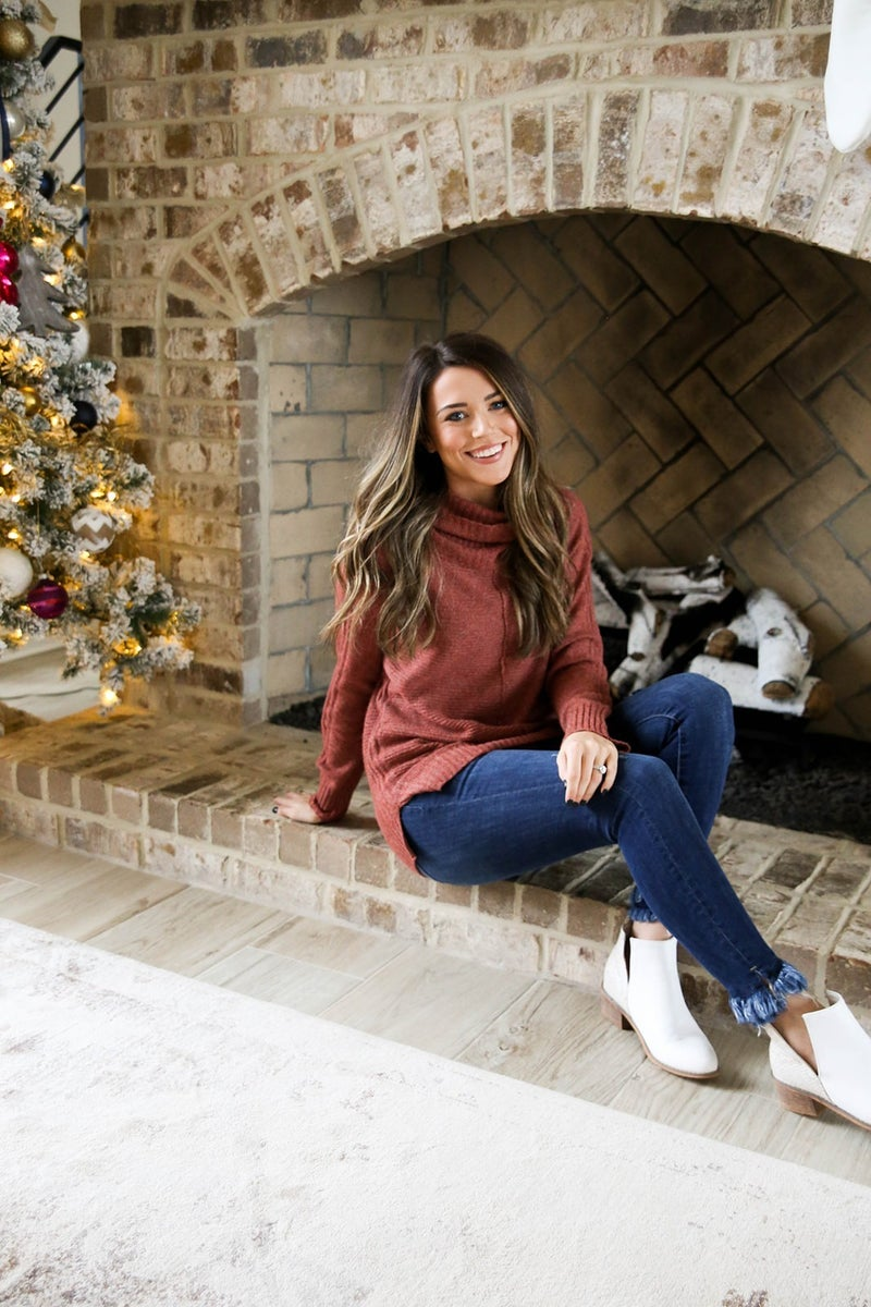 Winter Wishes Staccato Sweater