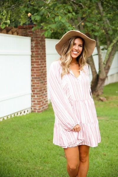 Boho in Stripes Dress