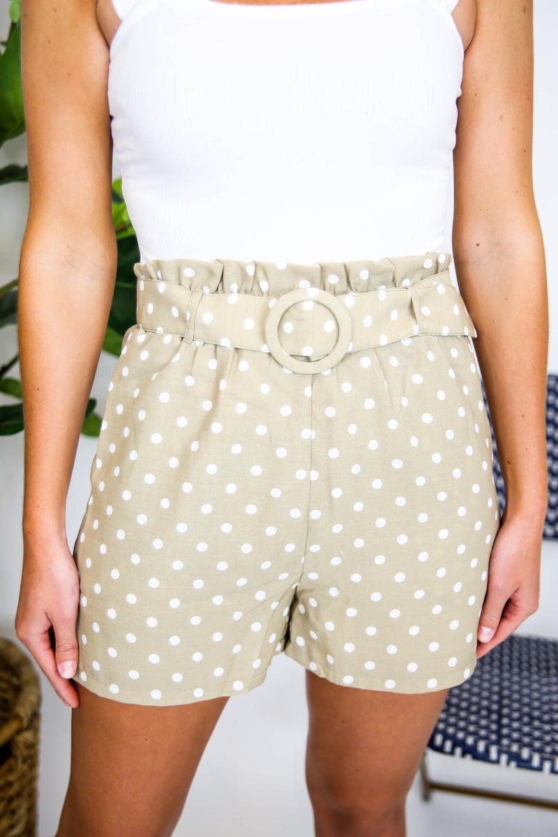 Cute and Classy Polka Dot Shorts