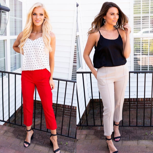 Work Day to Vacay Pants *Final Sale*