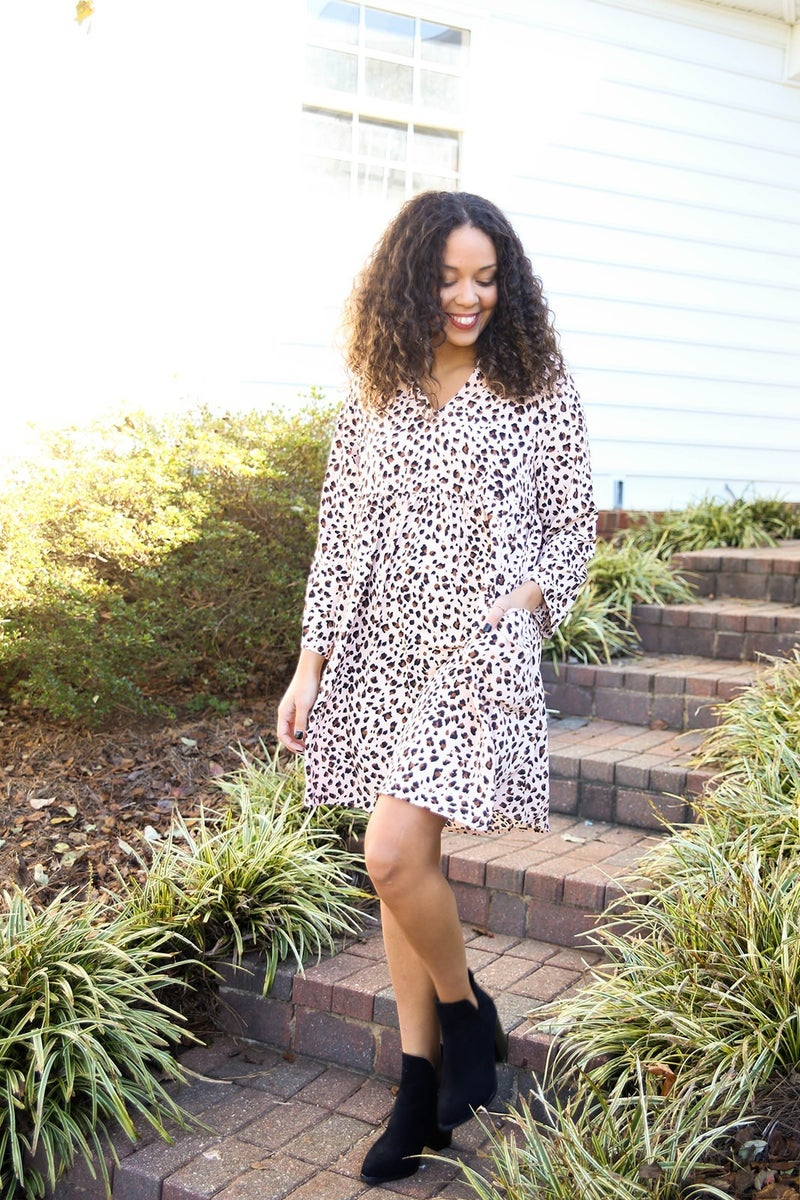 Mod in Cheetah Dress