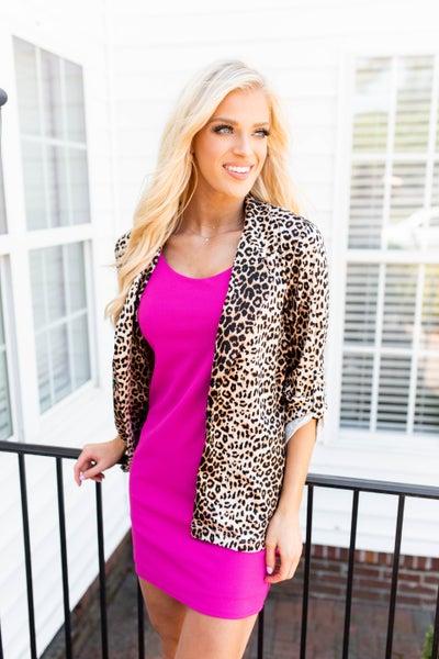 The Macy Cheetah Blazer