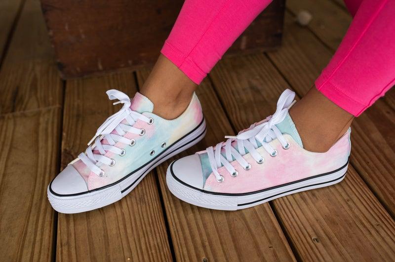 Tie Dye Mommy & Me Sneakers