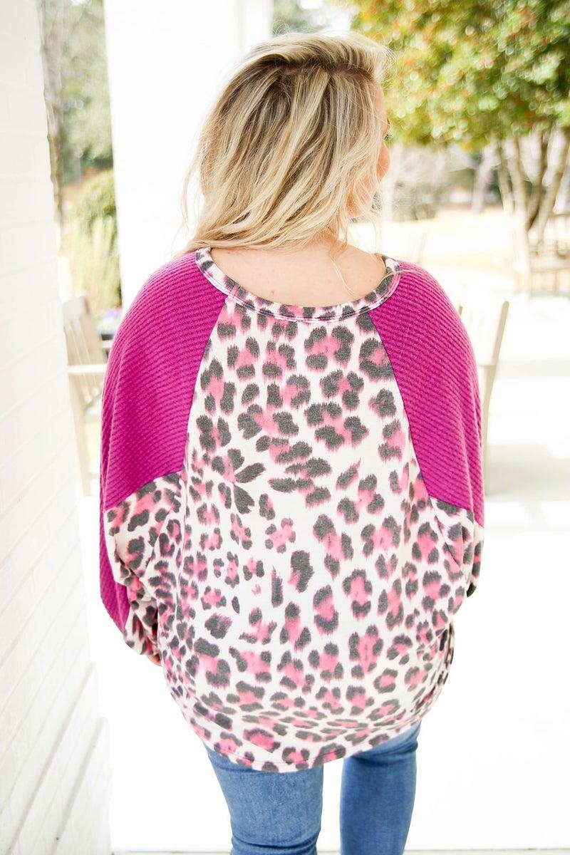 Dreaming in Color Cheetah Top