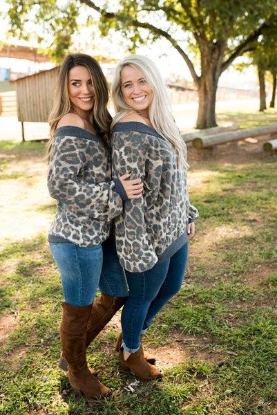 Charming in Cheetah Top