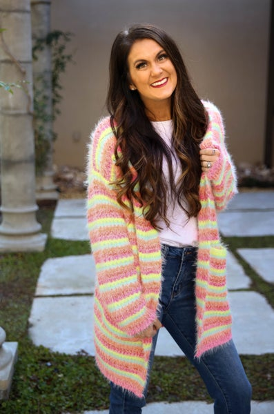 Striped Perfection Cardigan