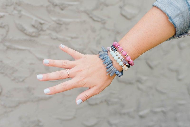 Pink Ice Bracelet Stack *Final Sale*
