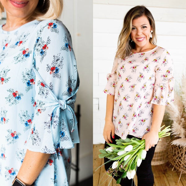 Bring The Roses Top *Final Sale*