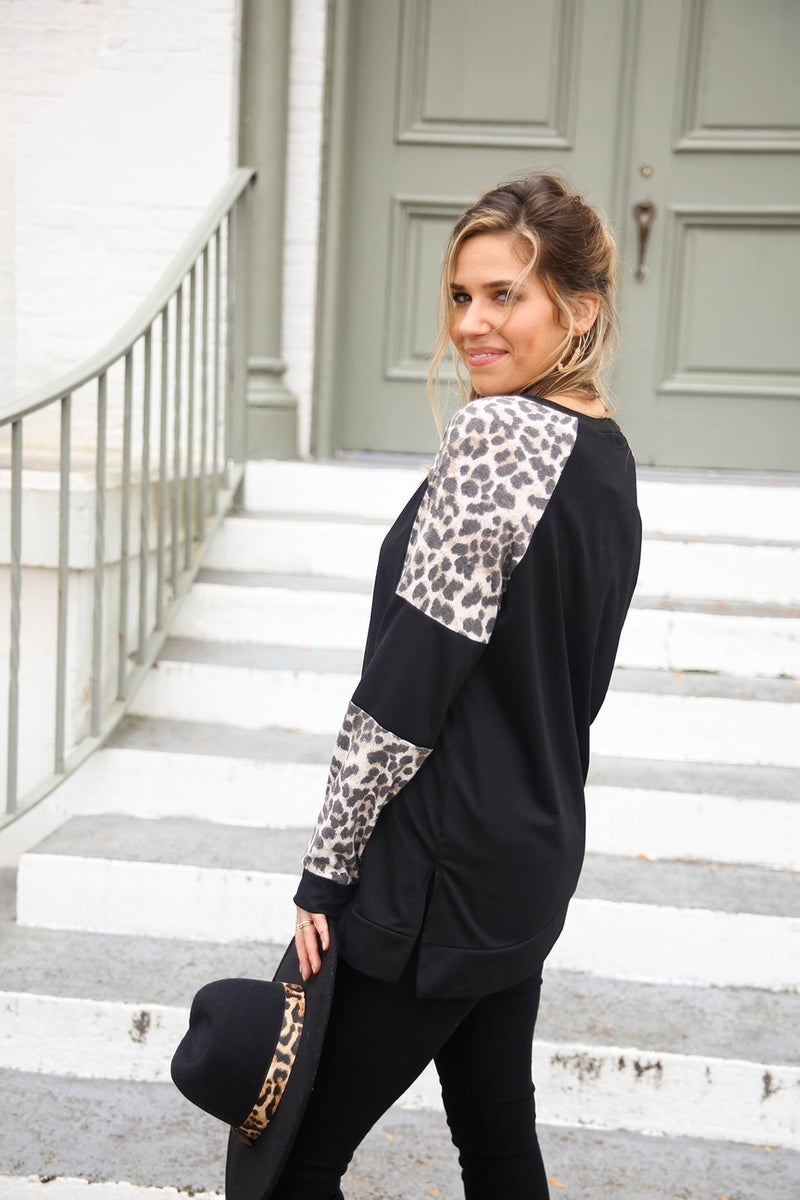 Touch of Cheetah Top