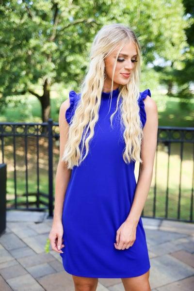 Tried, True & Royal Blue Dress