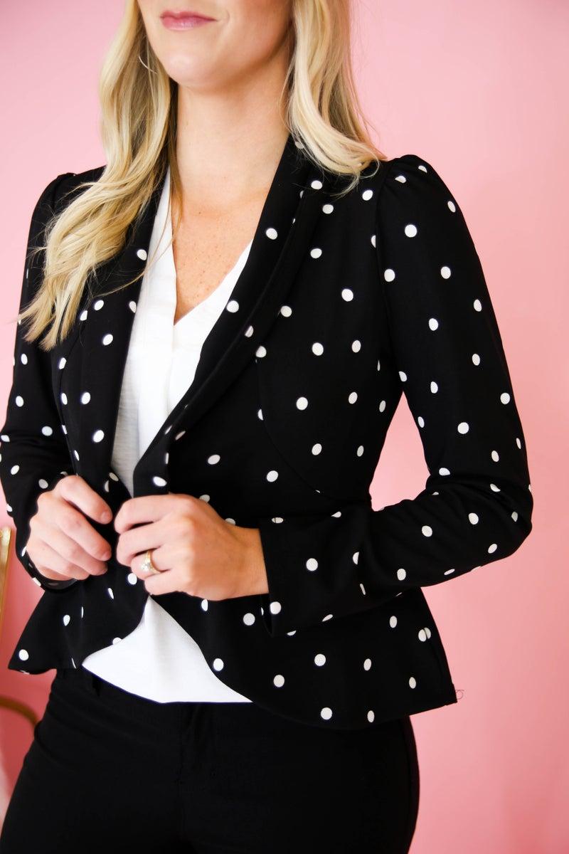 Dots on Dots Jacket