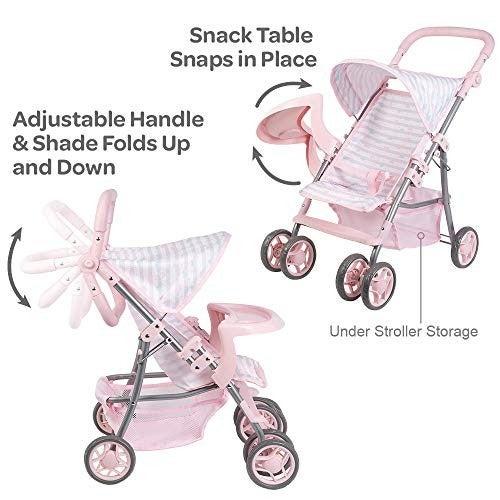 Pink Snack N Go Shade Stroller