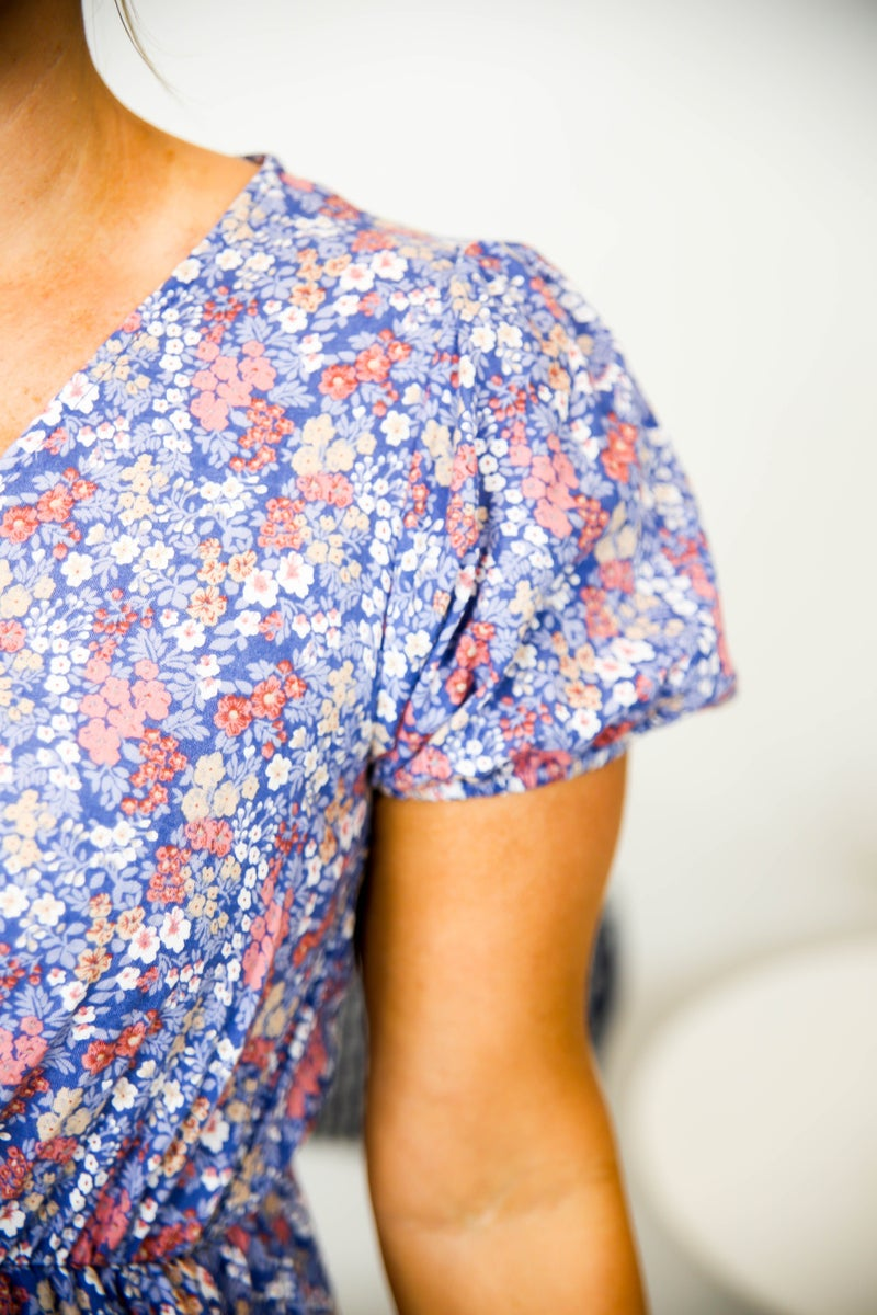 Summer's Floral Sundress