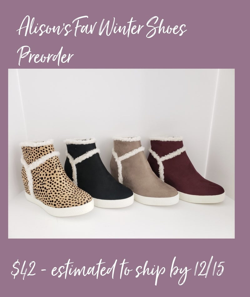 Alison's Fav Winter Casual Shoes