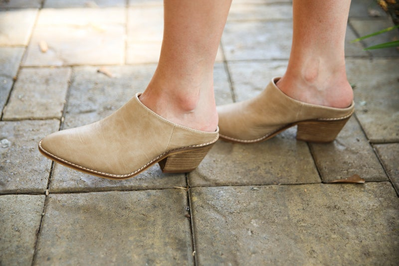 Uptown Girl Mules