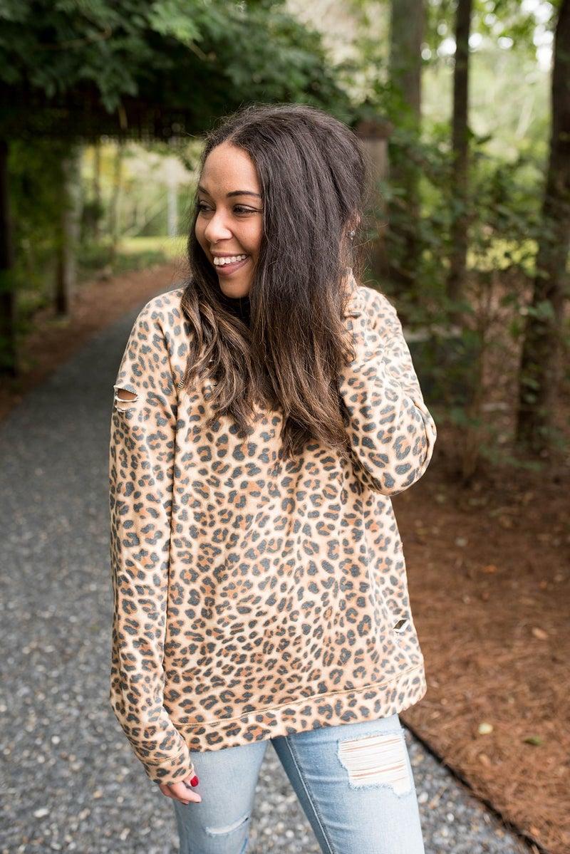 Wild for Cheetah Top