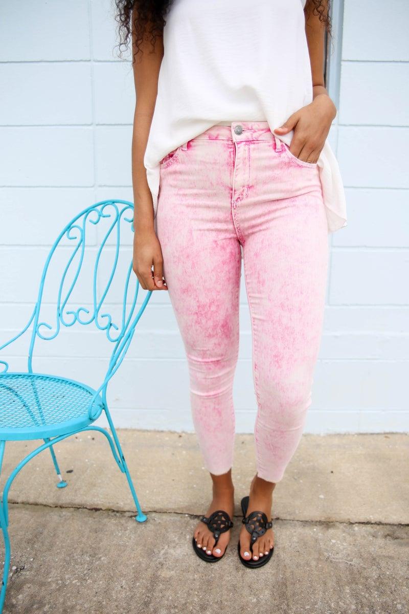Barbie's Acid Wash Jeans
