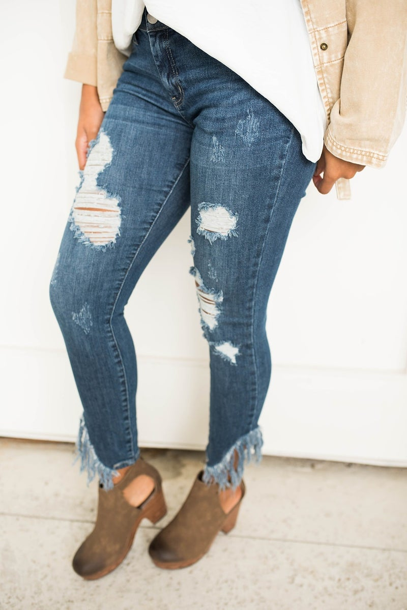 The Willow Judy Blue Skinny Jeans