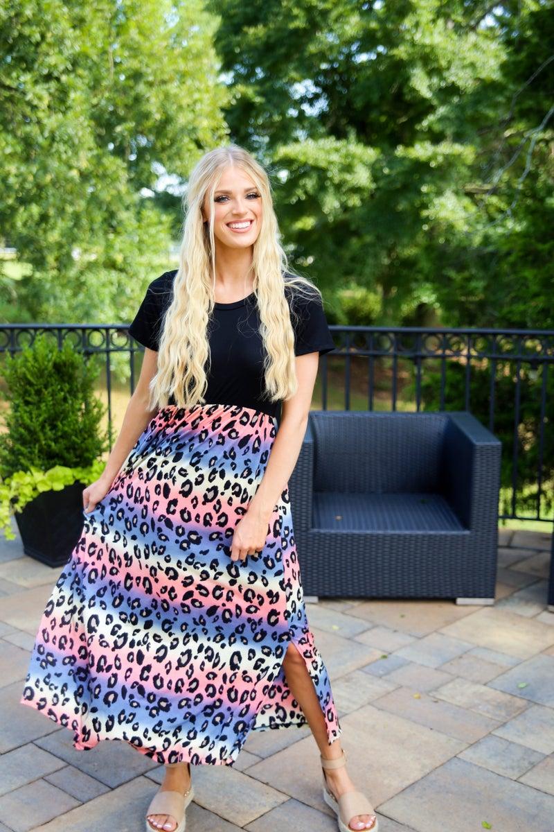 Bright Spot Leopard Dress