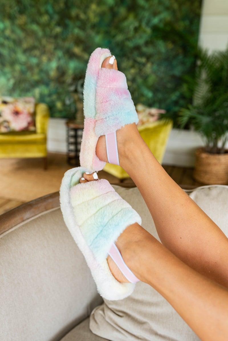 Totally Tie Dye Slippers