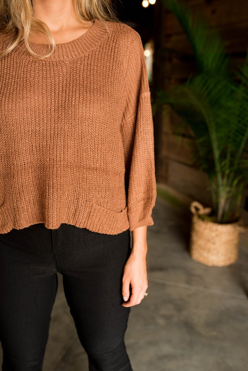 The Amber POL Sweater