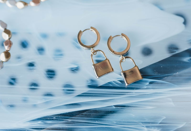 The Everly Lock Earrings