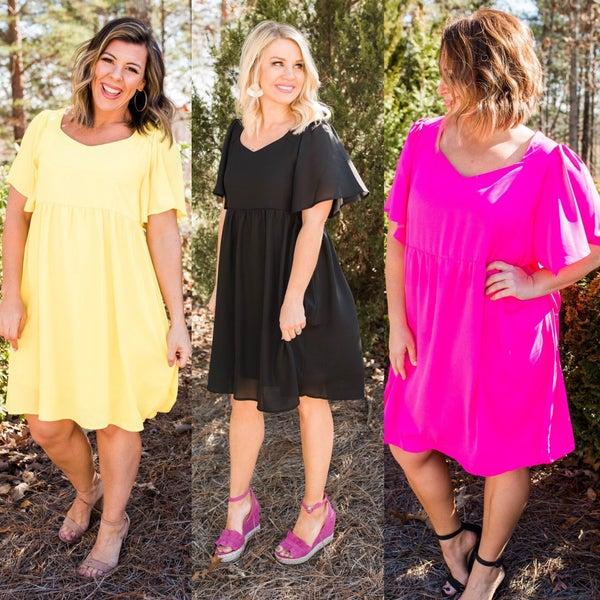 What's The Bright Idea Dress *Final Sale*