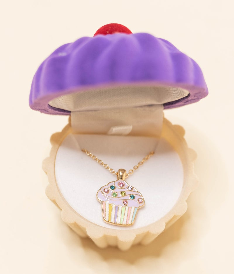 Sweet as a Cupcake Necklace *Final Sale*