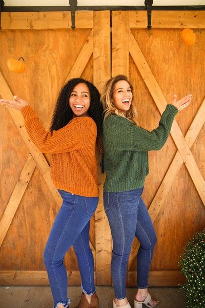 Go Pumpkin Picking Sweater