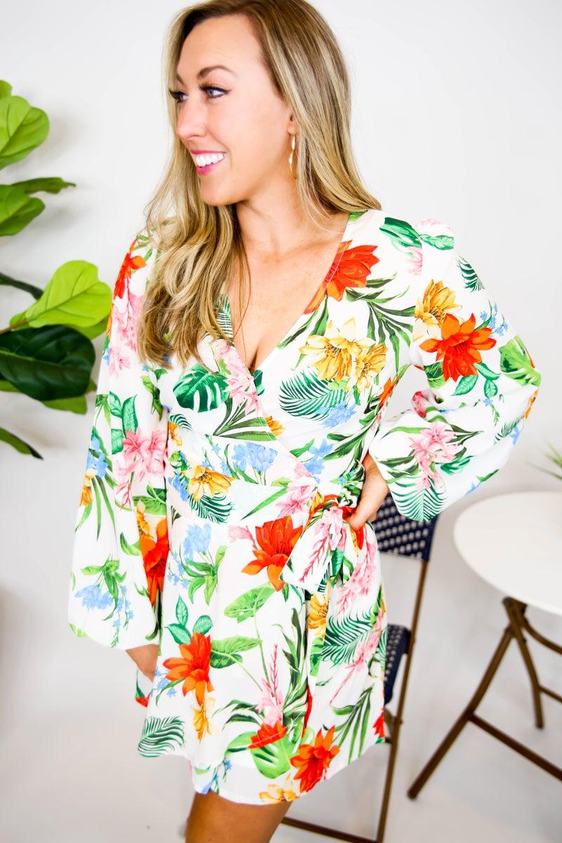 It's the Tropics for Me Dress