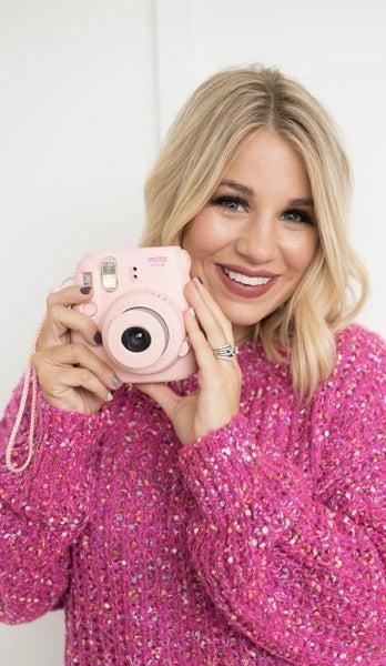 Pink Confetti Sweater