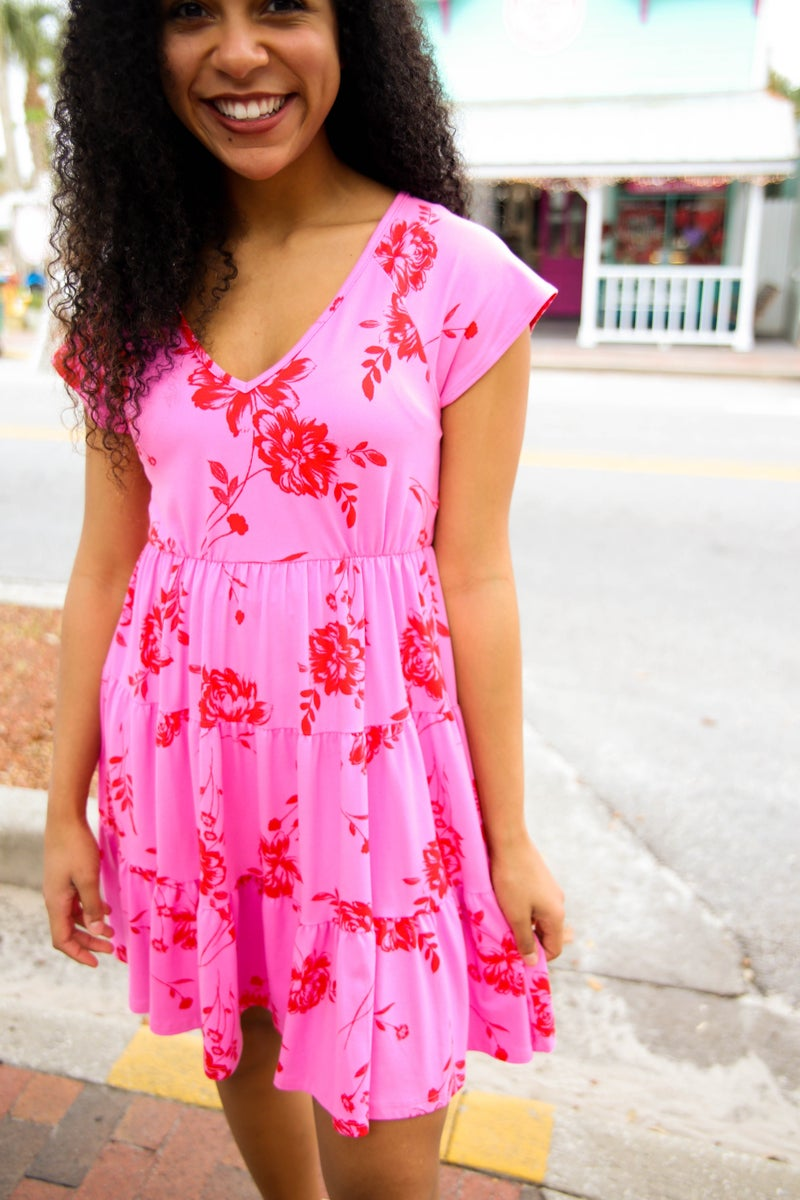 Life In Pink Dress