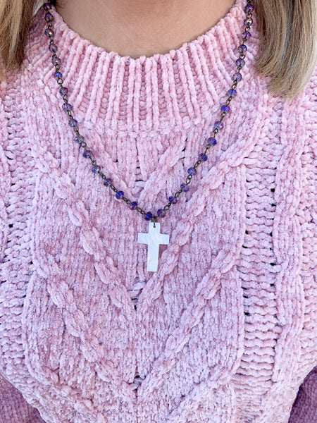 The Ally Cross Necklace
