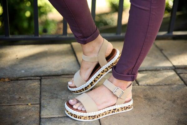 Go-To Cheetah Sandals