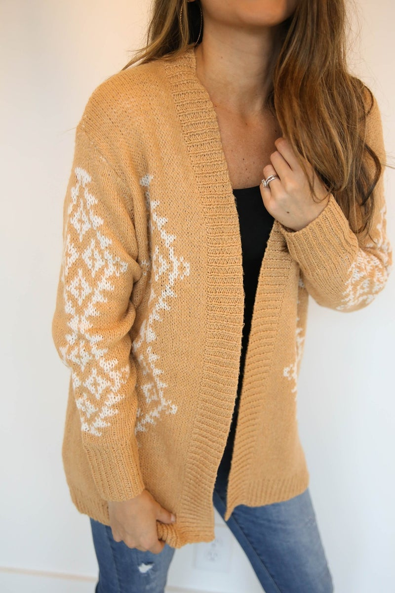 All About Aztec Cardigan