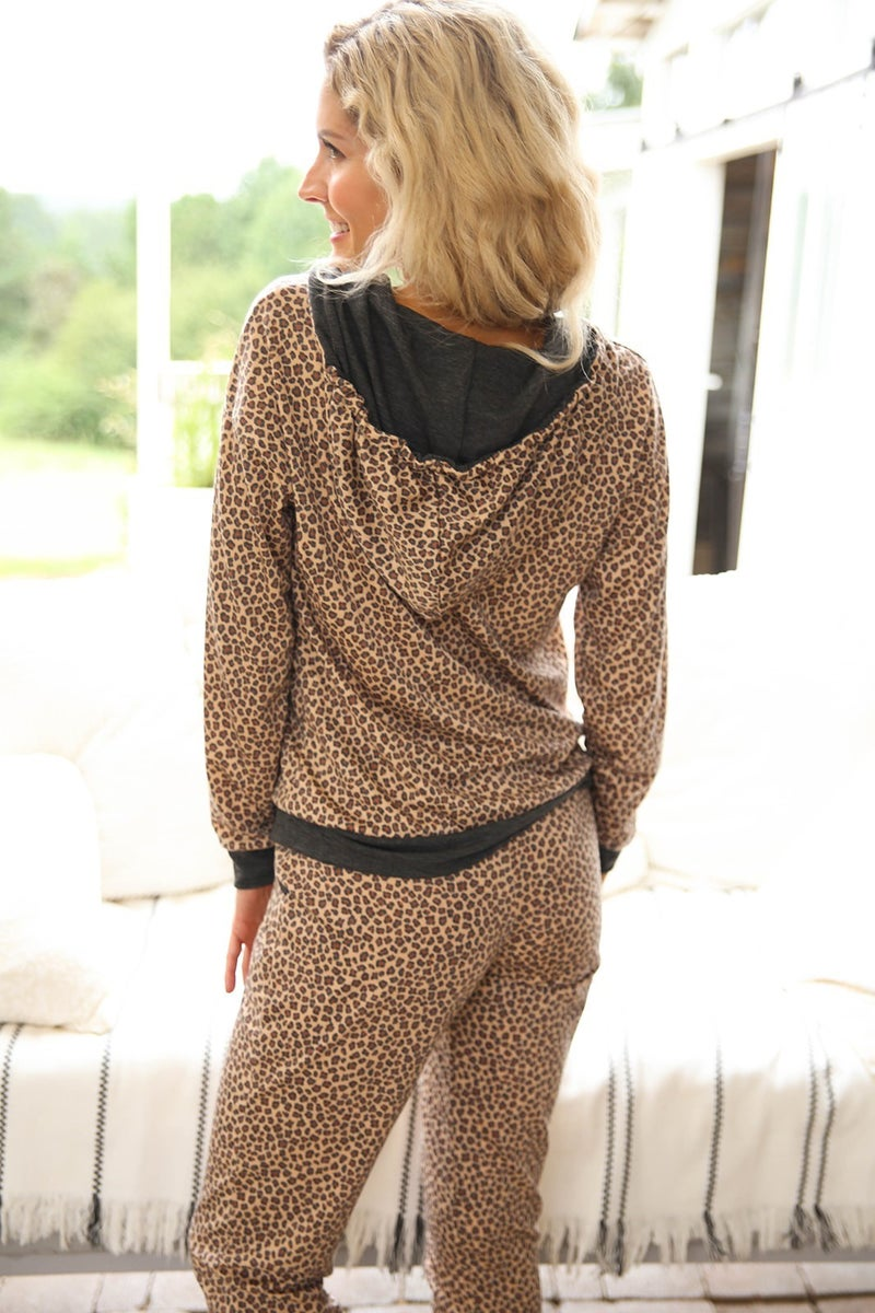 Relax All Day Cheetah Jacket