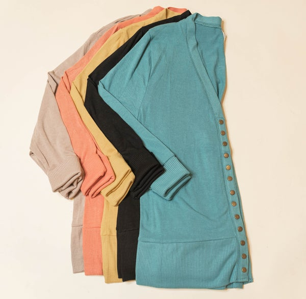 Our Favorite Go To Cardigan - Plus only