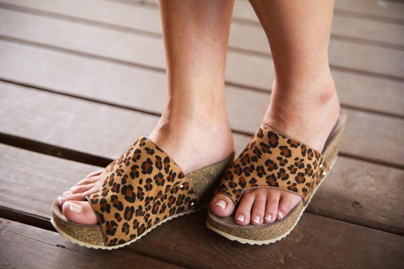 Cheetah My Way Corky Shoes