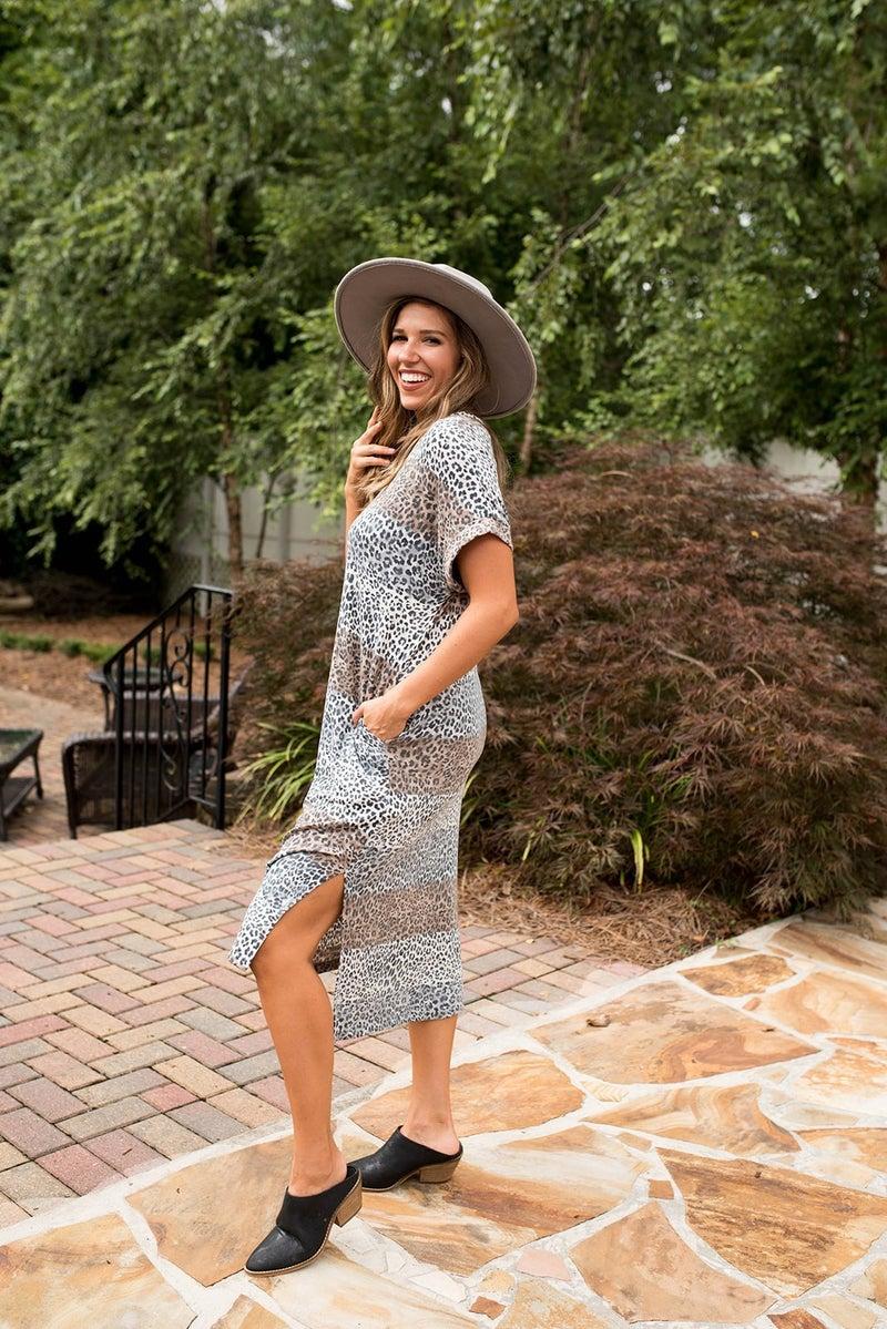 Make a Way Animal Print Dress