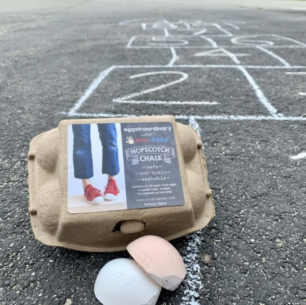 Eco-Kids Eggstraordinary Hopscotch Chalk
