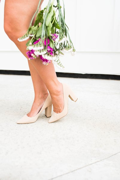 Blogger Inspired Pumps
