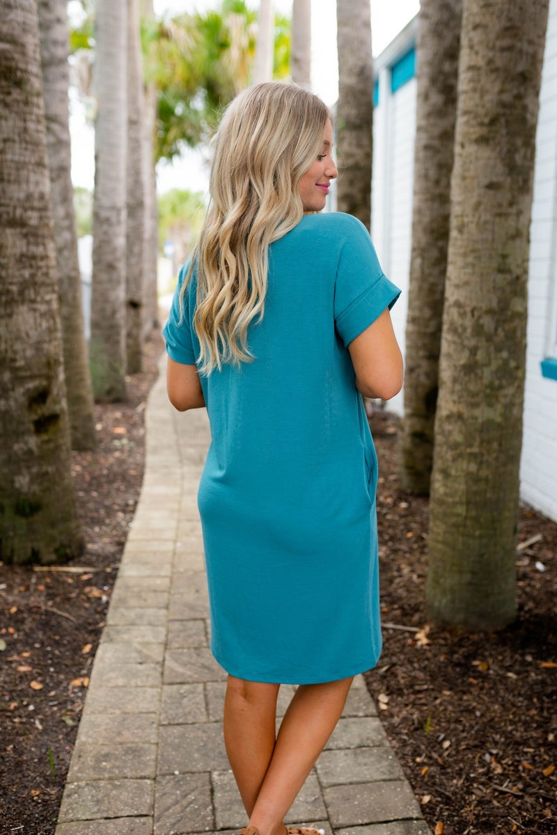 Life Is Great Dress - Hot Pink Deal