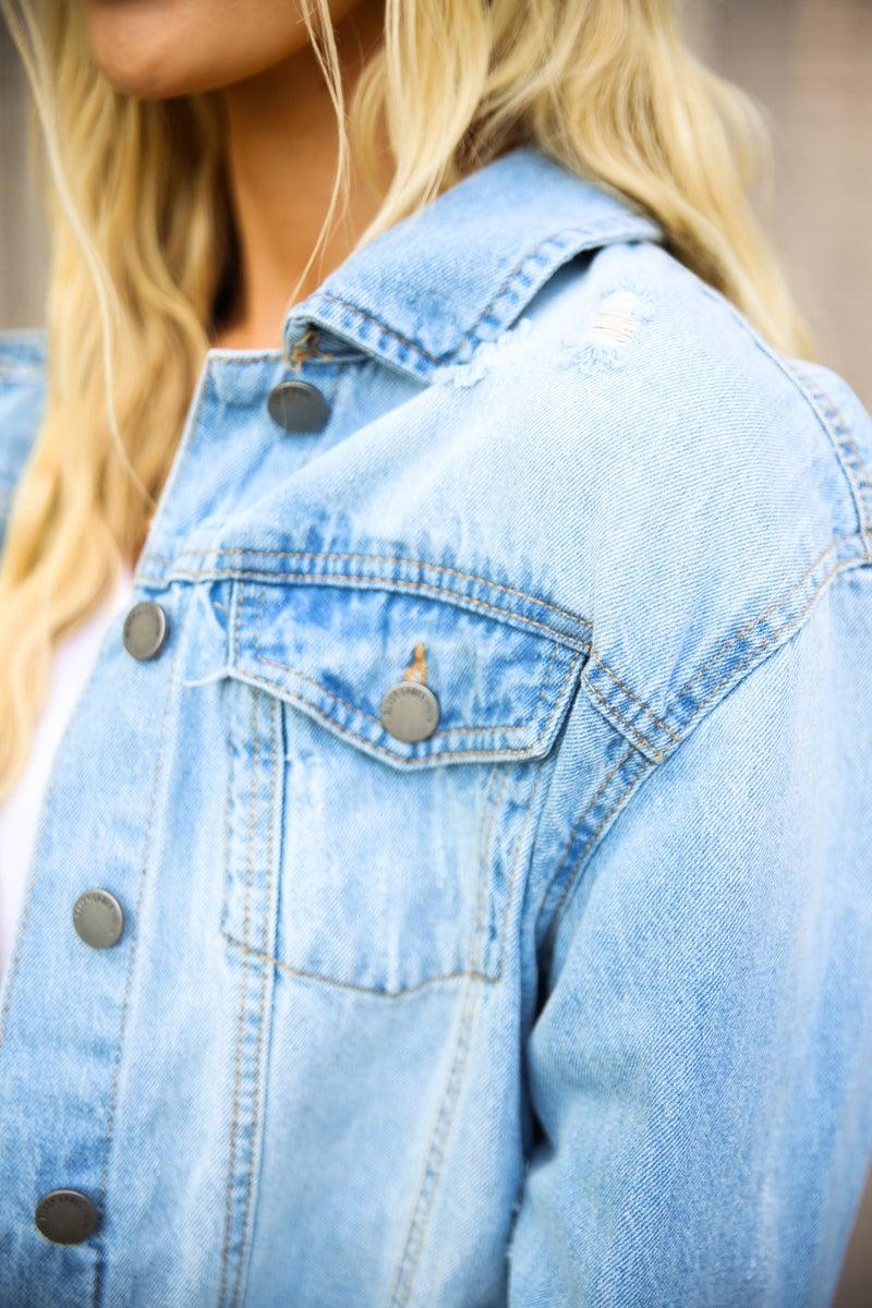 The Modern Essential Denim Jacket