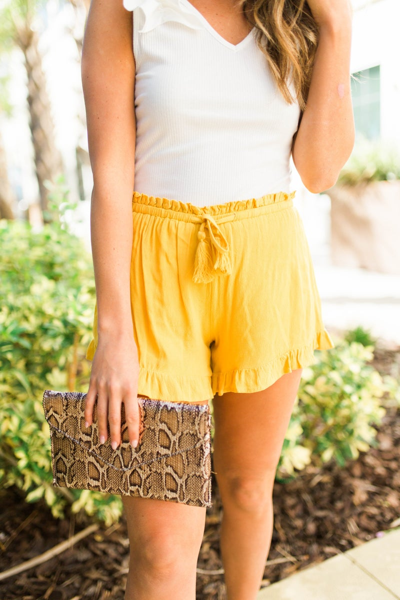 March Into Spring Shorts *Final Sale*
