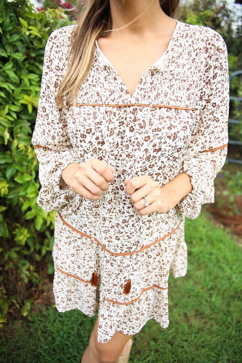 Vintage in Autumn Dress