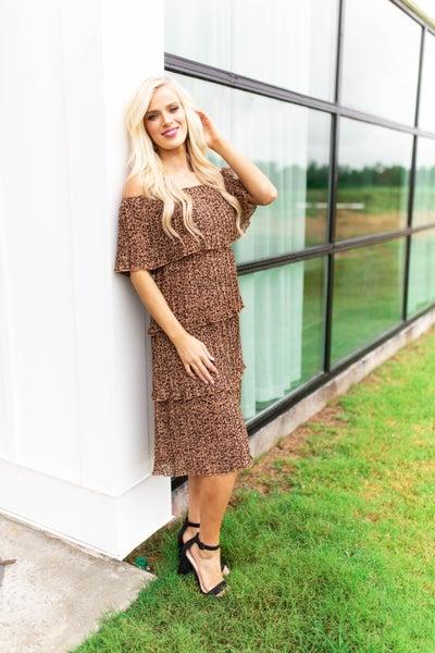So Couture, Cheetah Dress *Final Sale*