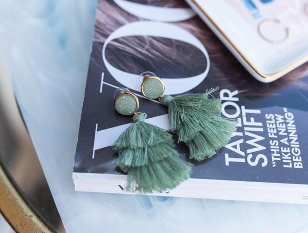 The Heidi Tassel Earrings