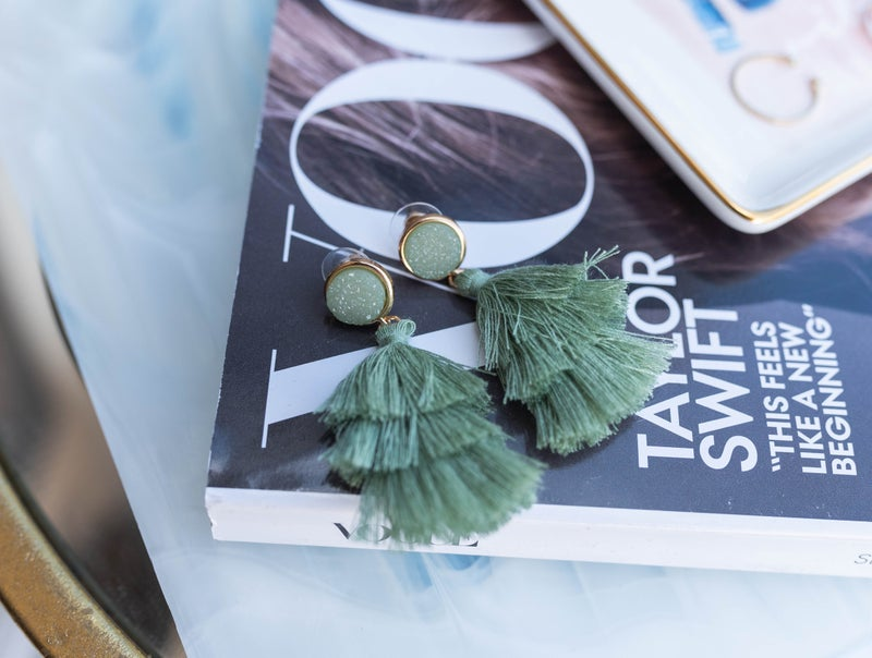 The Heidi Tassel Earrings