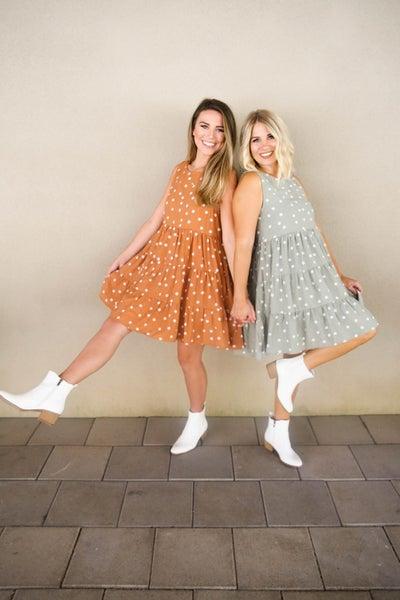 Daring in Dots Dress