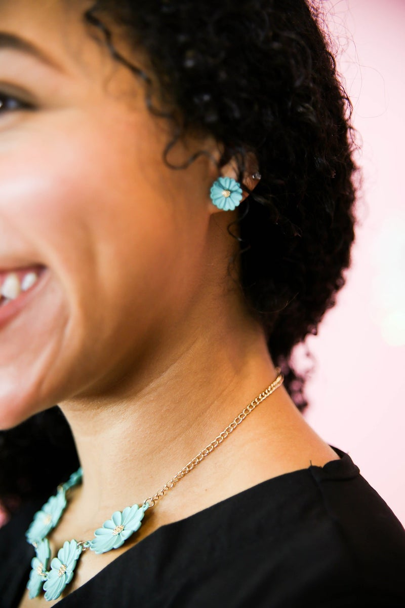 Fun in the Sun Necklace and Earring Set *Final Sale*